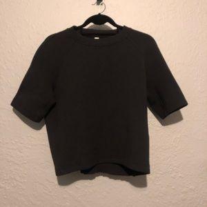 Lululemon NTS Cropped SS black NWT size 8